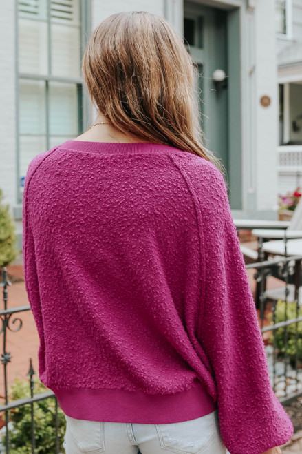 Free People Found My Friend Wild Aster Pullover