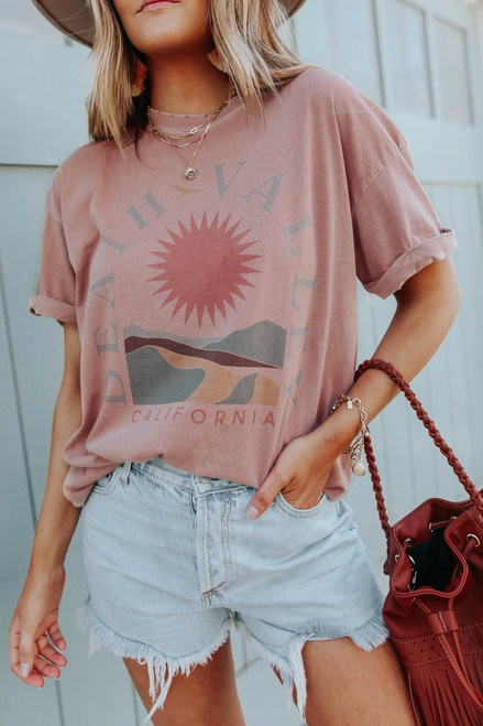 Death Valley Clay Distressed Graphic Tee