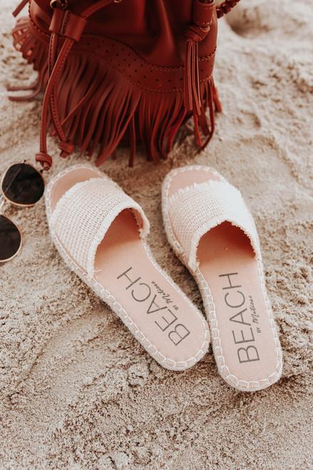 Beach by Matisse Koko Natural Slide Sandals