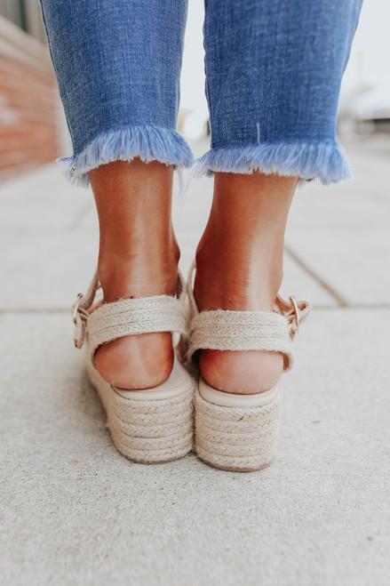 Ocean Isle Natural Espadrille Sandals