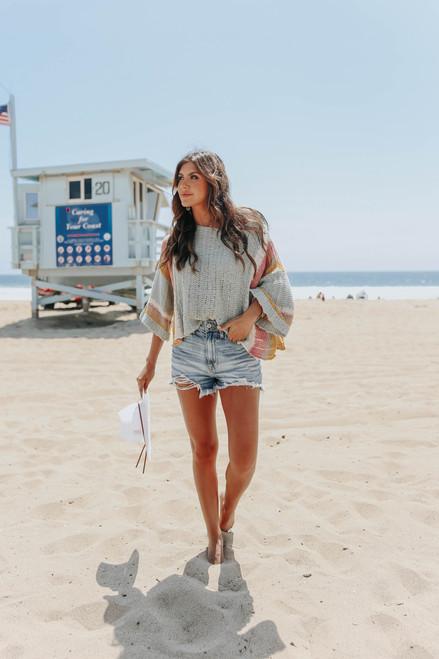 Seacliff Colorblock Beach Sweater