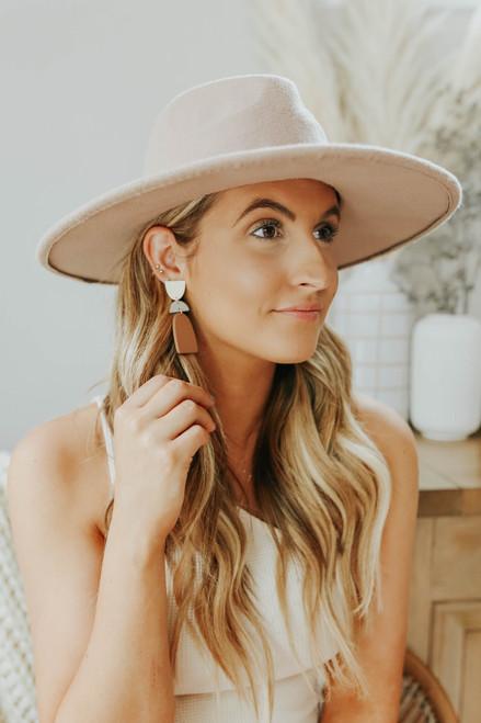 Dot Geometric Earring