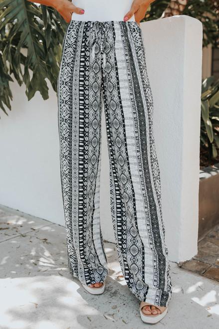 Free Spirit Mixed Print Pants