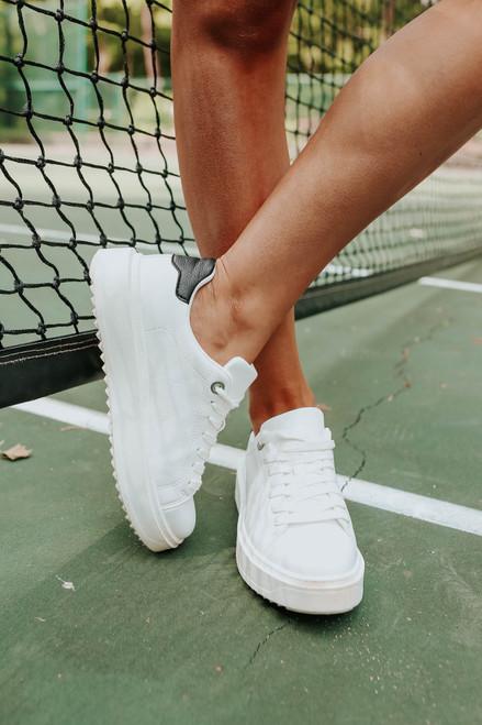 Steve Madden Charlie White Sneakers