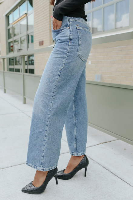 Free People Chalet Sundance Wide Leg Jeans
