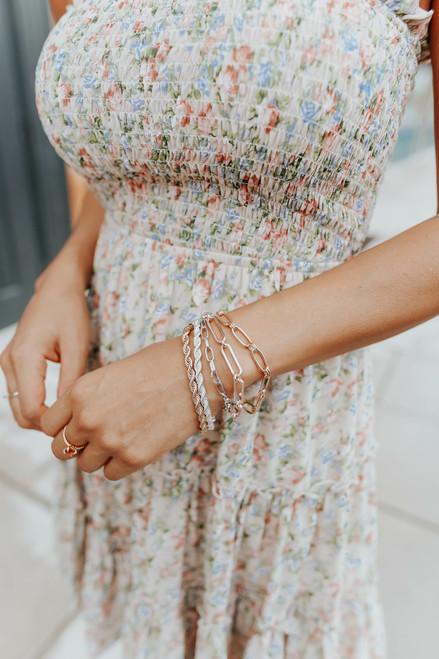 Wrapped Up Mixed Multi Linked Bracelet