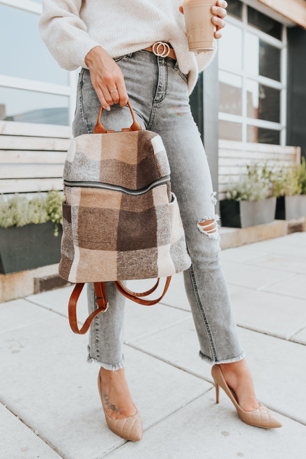 Winchester Summit Plaid Backpack