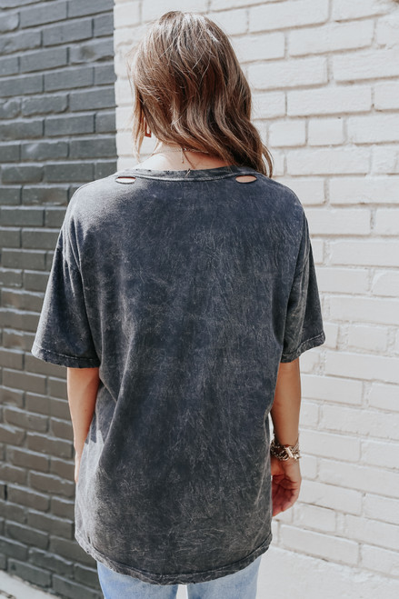 Don't Wake the Dreamer Vintage Charcoal Tee