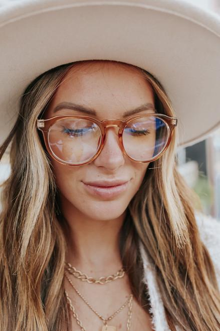 Visionary Nude Blue Light Glasses