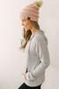 Zoe Soft Brushed Zip Up Jacket - Heather Grey  - FINAL SALE