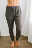 Cozy Cuddles Soft Brushed Joggers - Charcoal