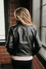 Don't Stop Believin' Faux Leather Jacket - Black  - FINAL SALE