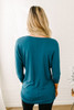 Signature Slouchy Dolman Top - Teal - FINAL SALE