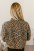 As If Denim Leopard Jacket - Brown Multi
