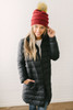 BB Dakota Puff Love Down Jacket - Black  - FINAL SALE