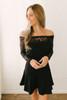 BB Dakota Lacey Days Dress - Black - FINAL SALE