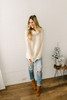 Meet You in the City Cowl Neck Sweater - Ivory