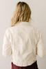 Free People Rumors Denim Jacket - Ivory - FINAL SALE