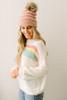 Arctic Chill Stripe Sweater - Pastel Multi