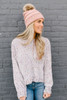 Sprinkled with Love Confetti Chenille Sweater - Grey Multi