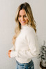 Free People Too Good Pullover - White - FINAL SALE