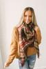 Winter Travels Chenille Hoodie - Camel - FINAL SALE