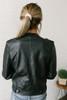 Jailhouse Rock Faux Leather Moto Jacket - Black - FINAL SALE