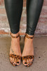 The Purfect Night Leopard Heels - Brown Multi -  FINAL SALE