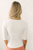 Free People Central Park Cardi - White