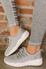 Ryder Low Top Lace Up Sneakers - Light Grey