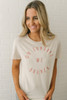 On Sundays We Brunch Graphic Tee - Clay - FINAL SALE
