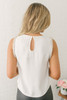 BB Dakota Happy Days Embellished Sleeveless Top - Ivory - FINAL SALE