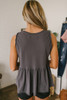 Free People Anytime Tank - Faded Black