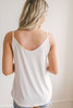 Road Trip Knotted Tank - Off White