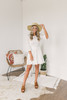Jack by BB Dakota Eyelet on the Prize Dress - White