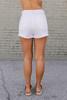 Jack by BB Dakota Down to Business Shorts - White - FINAL SALE