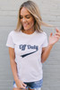 BB Dakota Off Duty Tee - Optic White/Navy