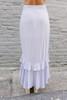 BB Dakota Go Gingham Tiger Maxi Skirt - Sky Blue - FINAL SALE