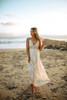 Paradise Island Scalloped Lace Maxi - Natural (EXPECTED END OF JUNE)