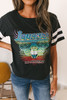Daydreamer Journey in Concert Football Tee - Ash