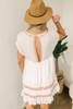 Free People Sunrise Wanderer Mini Dress - Ivory