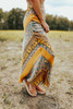 Free People Rio Maxi Skirt - Blue Combo