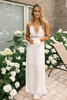Sea Castle Scalloped Lace Maxi - White -  FINAL SALE