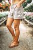 Drawstring Pocket Shorts - Taupe