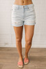 Barefoot Summer Distressed Denim Shorts - Light Wash  - FINAL SALE