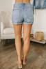 Barefoot Summer Distressed Denim Shorts - Medium Wash