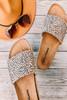 Dirty Laundry Pippa Cheetah Slides - Tan