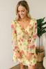 BB Dakota Botanical Bae Chiffon Dress - Yellow Multi  - FINAL SALE