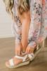 Summer Wishes Espadrille Sandals - White
