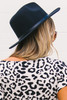 Maiers Belted Panama Hat - Black